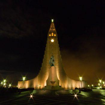 Hallgrimskirkja - Reykjavik - Islande
