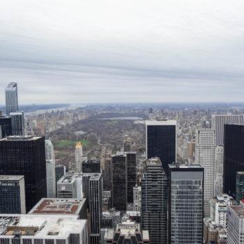 Central Park depuis le Top of The Rock (Tour Rockefeller) - New-York