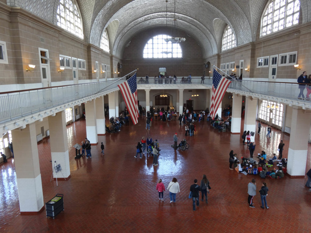 Ellis Island, Immigrant Building - New-York
