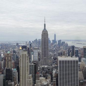 L'Empire State Building depuis le Top of The Rock (Tour Rockefeller) - New-York