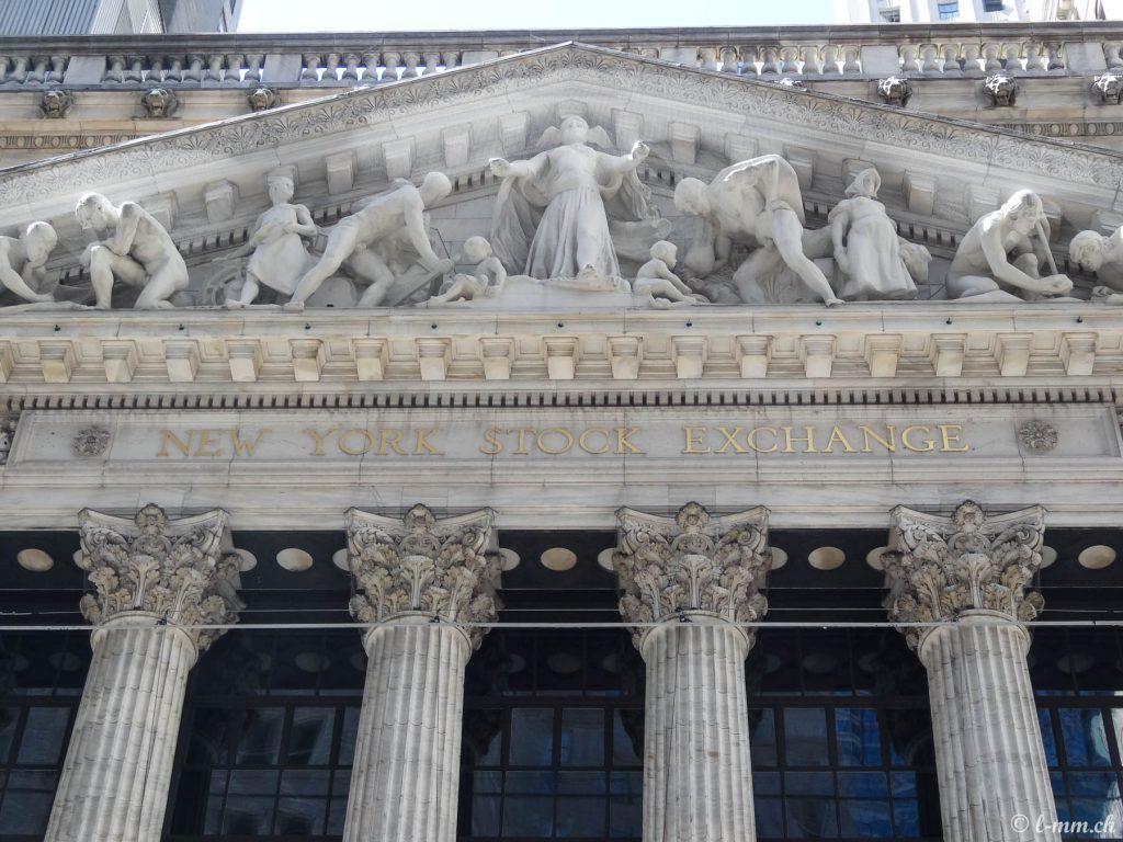 La bourse de New-York - New-York