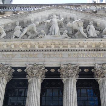 La bourse de New-York - New-York