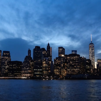 Manhattan depuis Brooklyn Bridge Park (Dumbo) - New-York