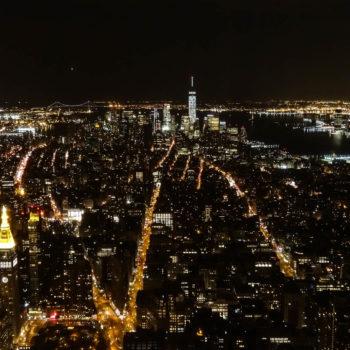 Manhattan depuis l'Empire State Building - New-York