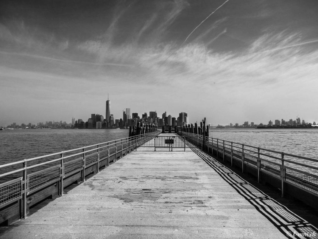 Manhattan depuis Liberty Island - New-York