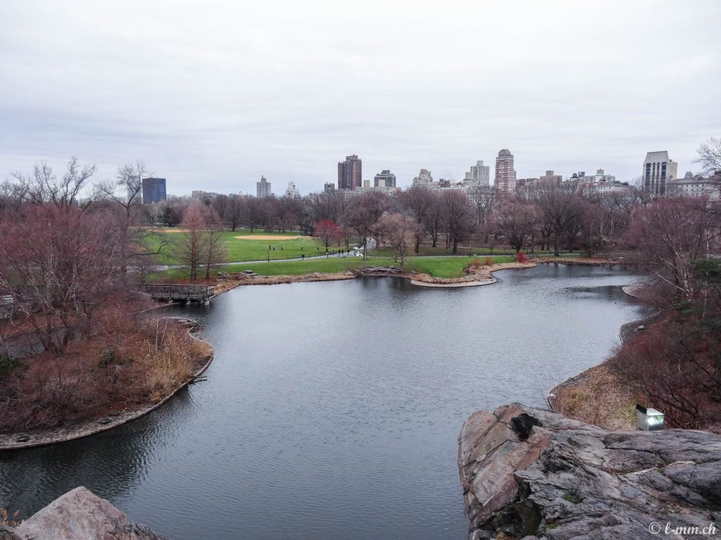 Turtle Pond, Central Park - New-York