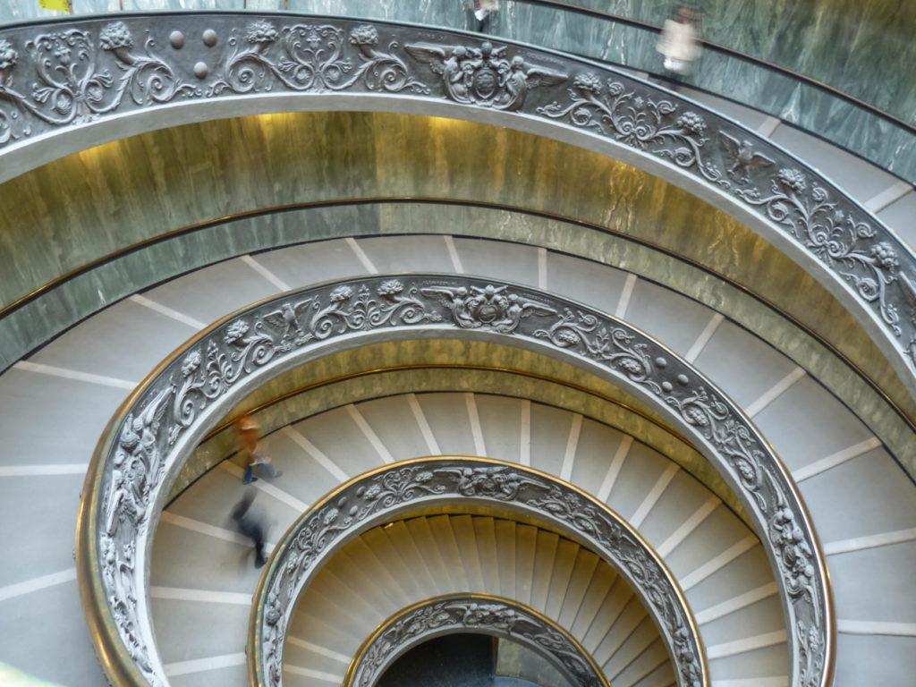 Escalier de Bramante - Musée du Vatican