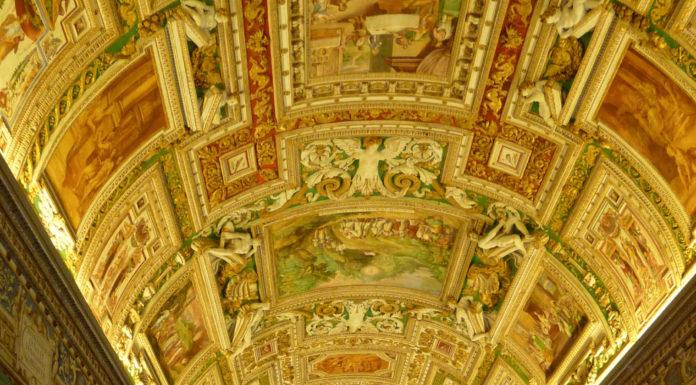 Galerie des cartes - Musée du Vatican