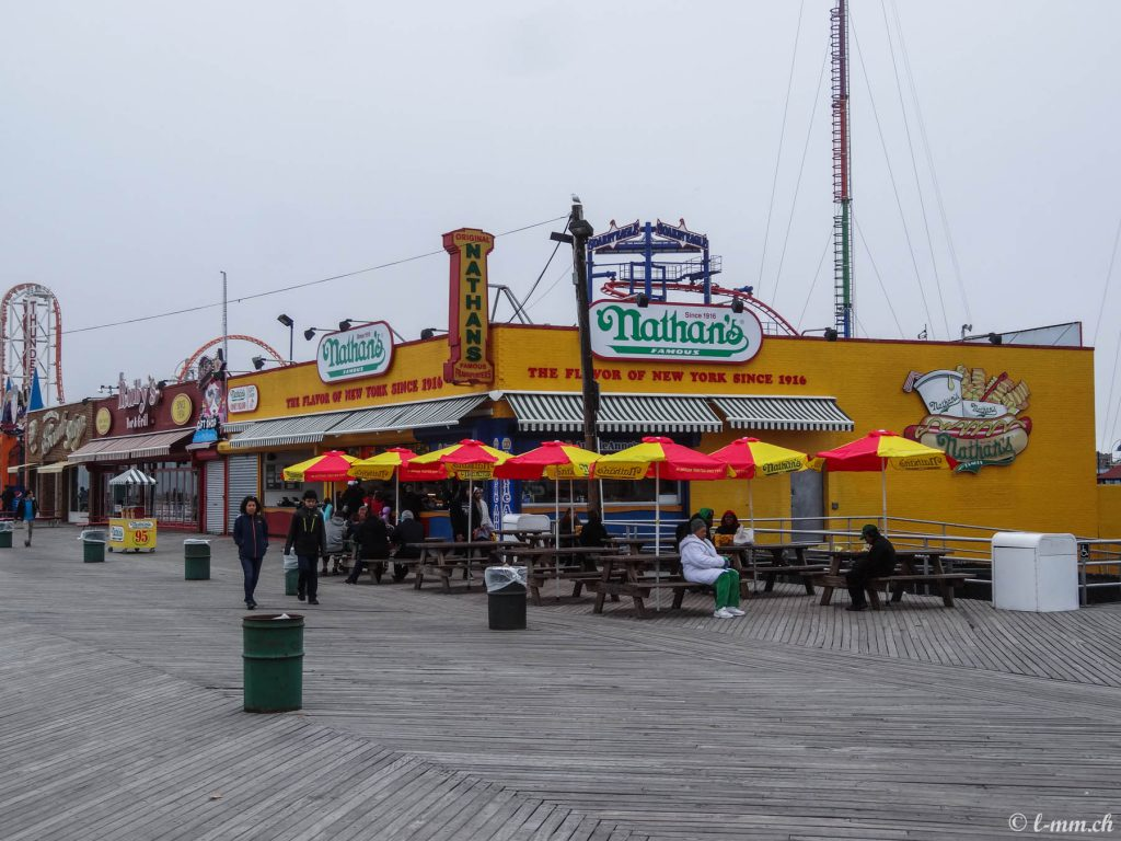 Nathan's, Coney Island - New-York