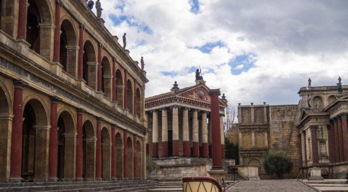 Décors de Rome - Cinecittà Studios - Rome