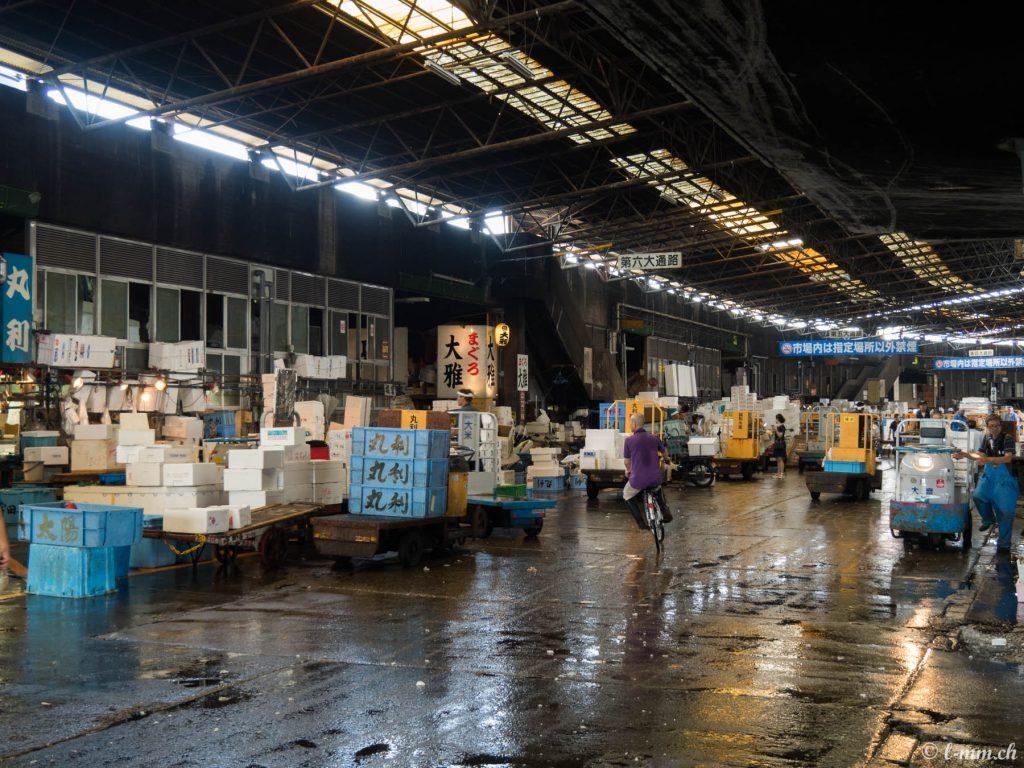 Le marché de Tsukiji - Tokyo