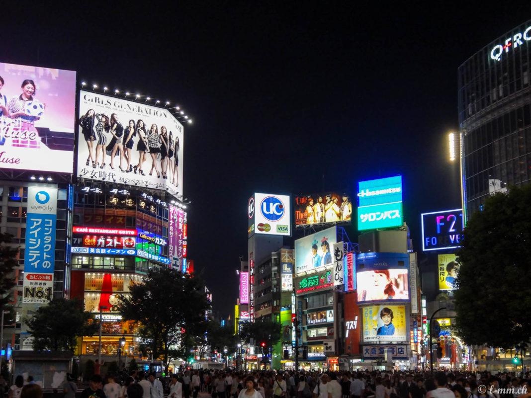 Shibuya de nuit - Tokyo