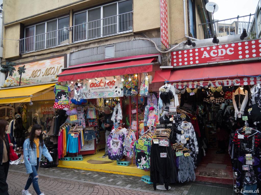 Takeshita-dori à Harajuku - Tokyo