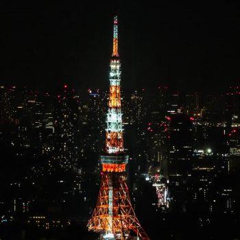 Tokyo tower près de Roppongi Hills (2) - Tokyo