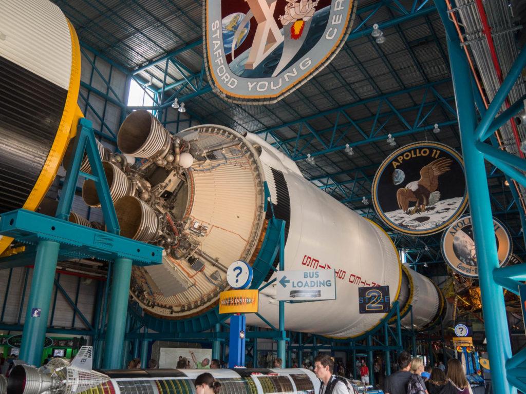 Fusée Saturn V second étage - Kennedy Space Center - Cape Canaveral