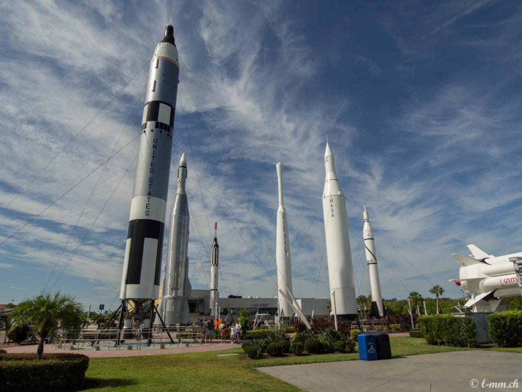Rocket Garden - Kennedy Space Center - Cape Canaveral