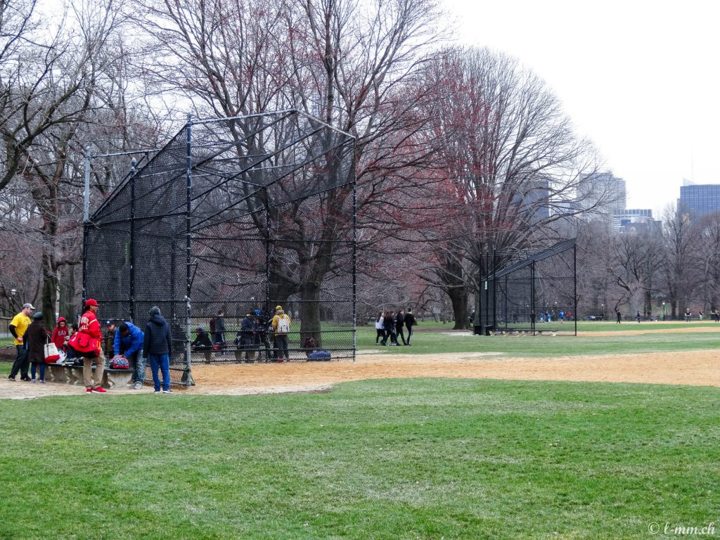 Les terrains de Baseball de Central Park - New-York