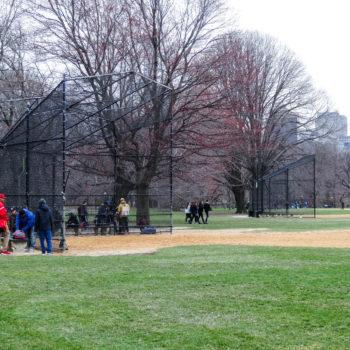 Les terrains de Baseball de Central Park - New-York