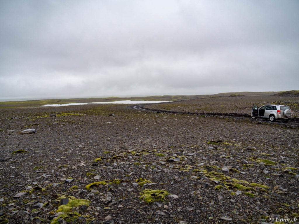 Sur la route de Landmannalaugar - Islande
