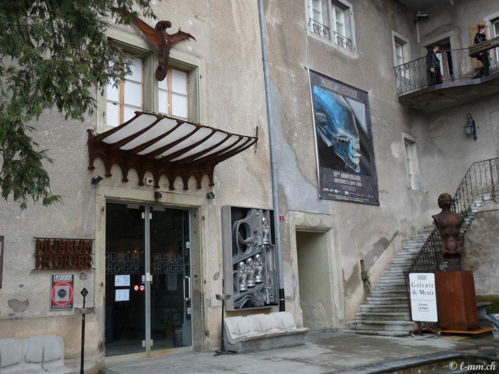 Musée HR Giger - Gruyères - Suisse