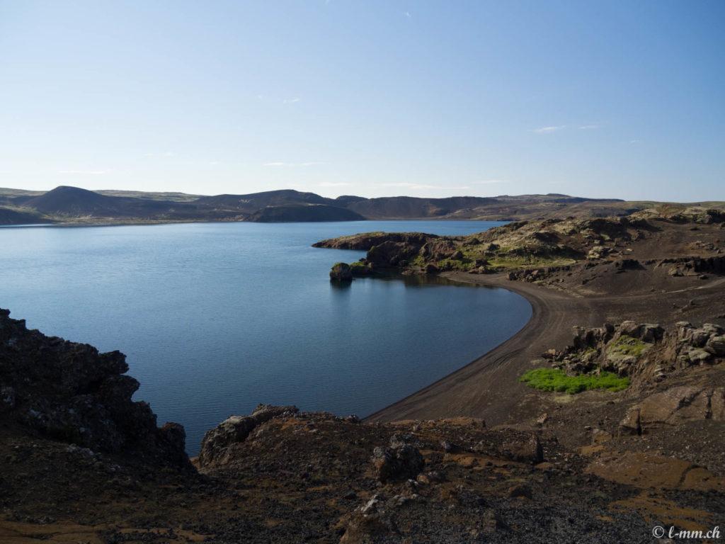 Le lac de Kleifarvatn (1) - Islande