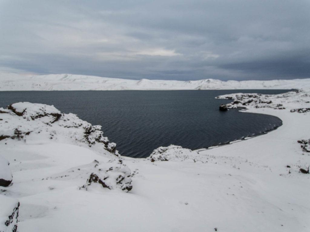 Le lac de Kleifarvatn - Islande