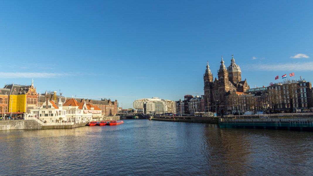 Gare Centrale - Amsterdam - Pays-Bas